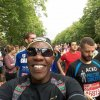 ED Joe Wang'endo running London Marathon 2014